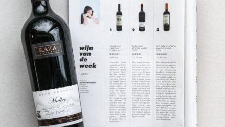 Simonne Wellekens Oxfam Raza Wijn De Standaard Magazine 2019