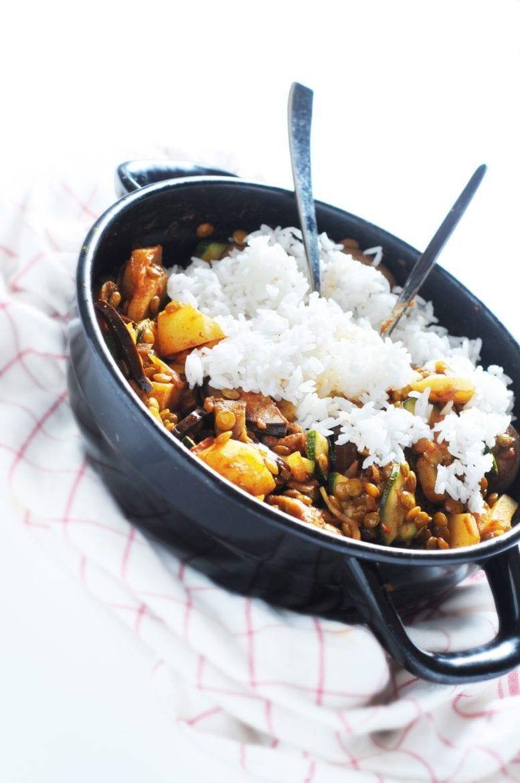 Berenje Sabsijad (Perzische rijstmaaltijd) Oxfam recept