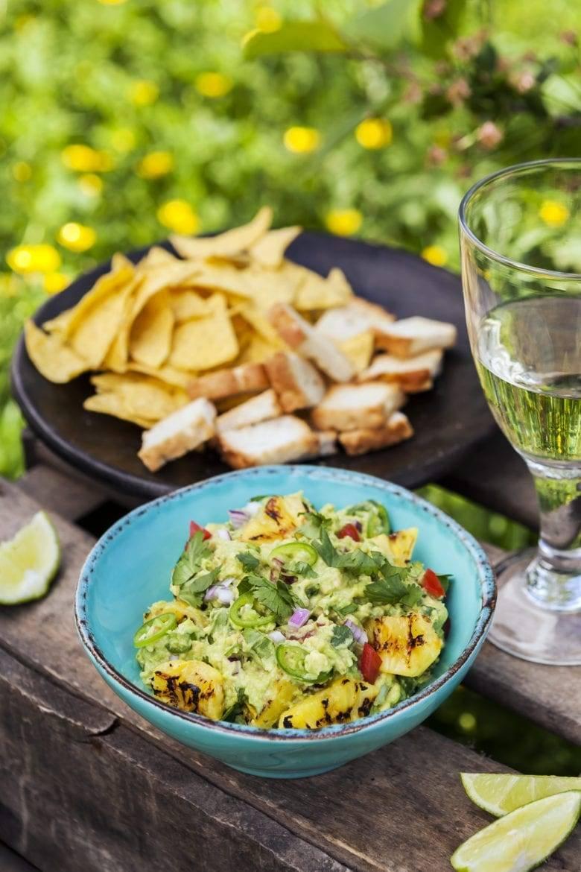 Guacamole met ananas Oxfam recept