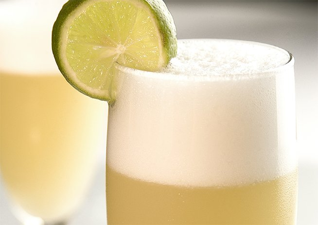 Pisco sour Oxfam recept