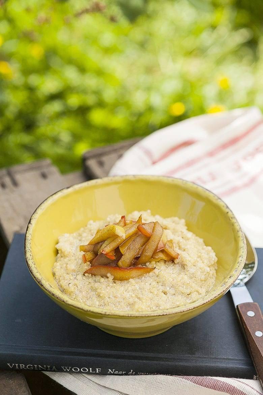 Quinoa-ontbijt Oxfam recept