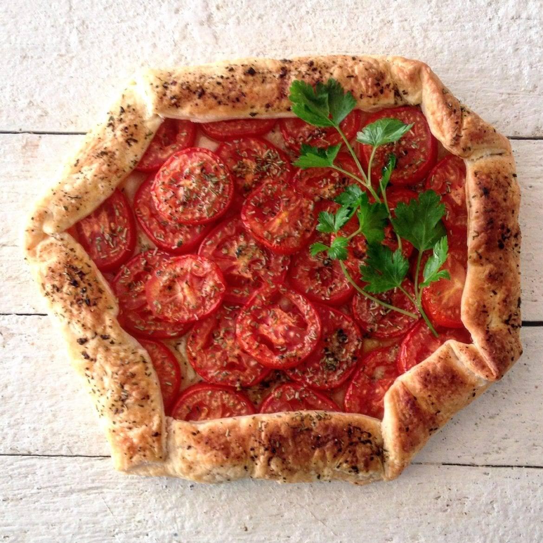 Tomatengalette met balsamico Oxfam recept