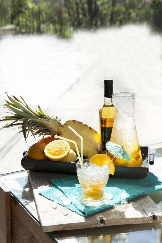 Tropische ananas-sangria Oxfam recept
