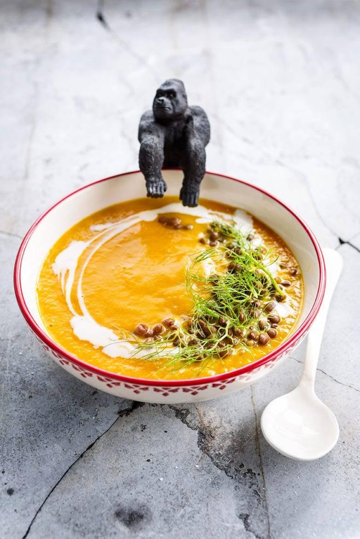 Venkel-wortelsoep met quinoa Oxfam recept