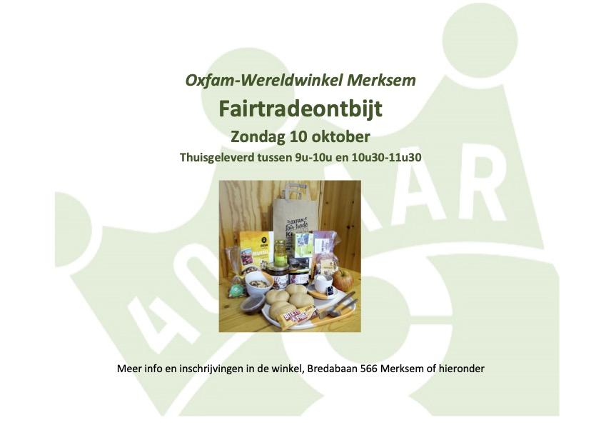 Fairtradeontbijt 10 oktober