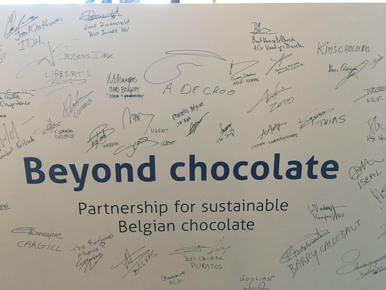 Oxfam-Wereldwinkels ondertekent partnerschap voor duurzame Belgische chocolade Oxfam artikel