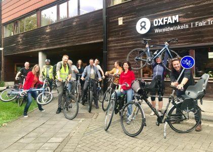 Oxfam & de duurzame verplaatsing