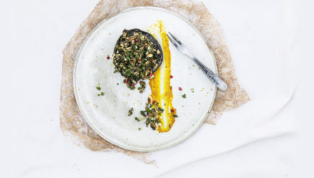 Recept Portobello Met Gremolata En Pompoencrème