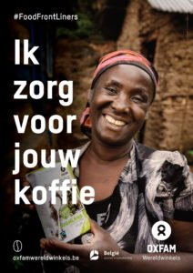foodfrontliners world fair trade day koffie koffie poster