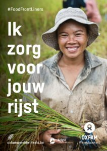 foodfrontliners world fair trade day rijst poster