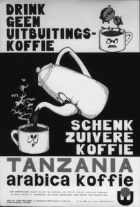 1973 Tanzania Koffie
