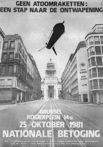 1981 Betoging Raketten